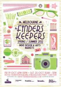 Finders Keepers Market Poster