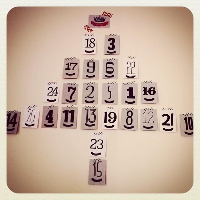 2013 Advent Calendar…