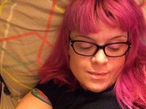 Pink hair, yeah, yeah!