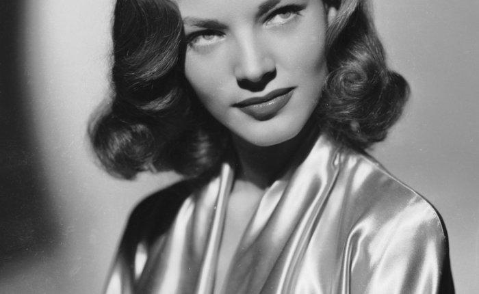 Lauren Bacall…