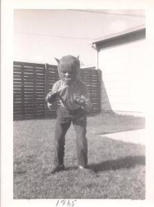 Wolf man vintage Halloween