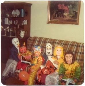 Vintage Halloween kids