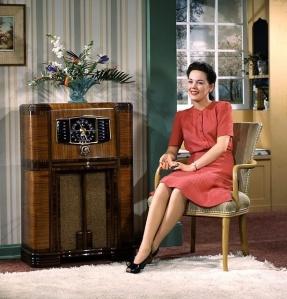 1940's radio listening