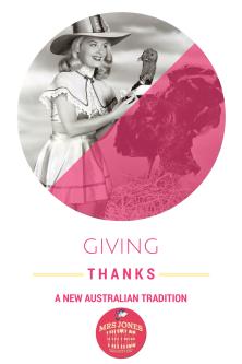 Mrs Jones Vintage Thanksgiving