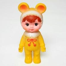Yellow Woodland Doll